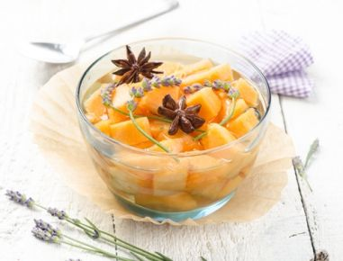 Lavendelmelonen in eigenem Sirup - Rezept