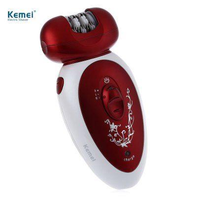 Kemei KM-3048 Аккумуляторный эпилятор 4 в 1 - машинка для стрижки волос и бритва. #Kemei #KM-#3048 #Аккумуляторный #эпилятор #4 #в #1