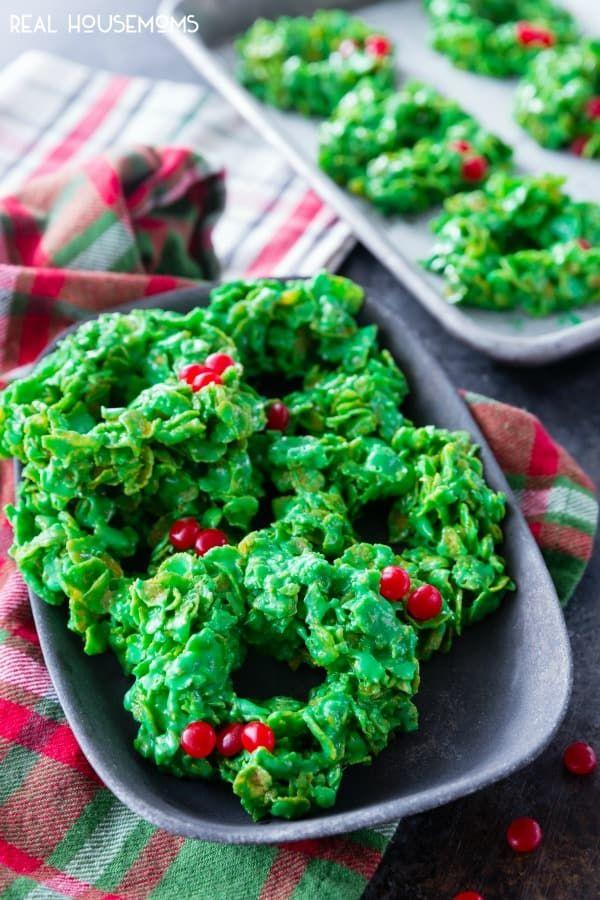 Christmas Wreath Cookies Are A Festive Fun And Tasty Christmas