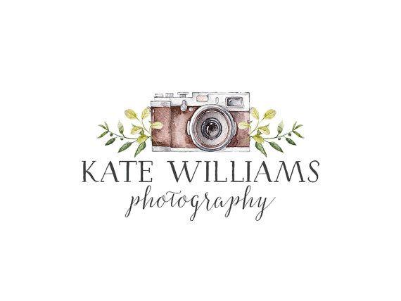 Photography Logo and watermark Premade Logo by StellarDesignStudio
