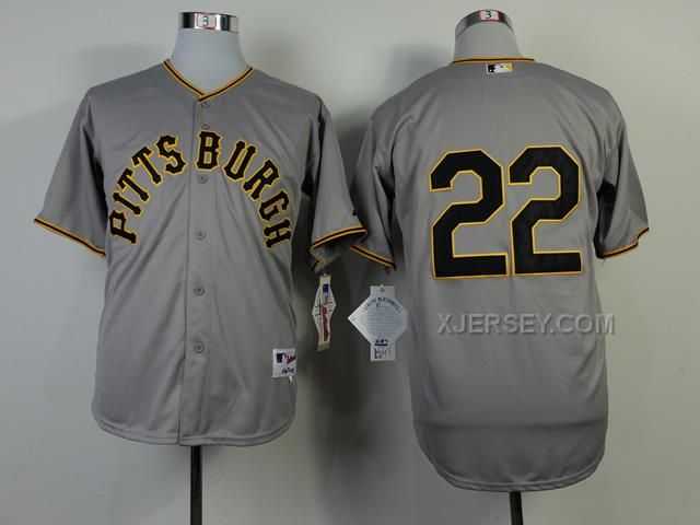 http://www.xjersey.com/pirates-22-mccutchen-grey-1953-turn-back-the-clock-jerseys.html PIRATES 22 MCCUTCHEN GREY 1953 TURN BACK THE CLOCK JERSEYS Only $34.00 , Free Shipping!