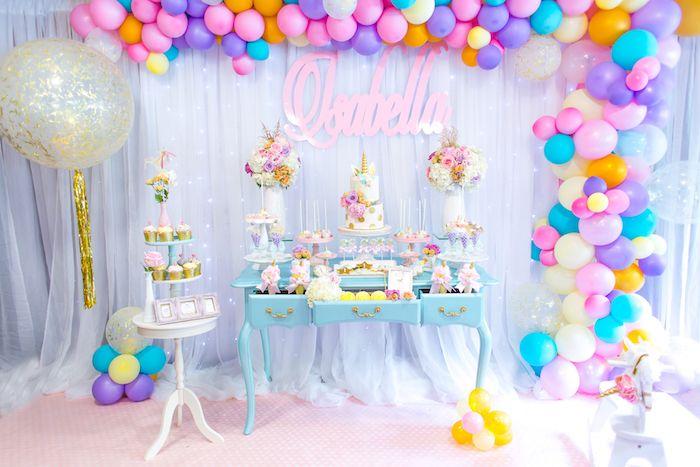 Magical Unicorn Birthday Party on Kara's Party Ideas | KarasPartyIdeas.com (28)