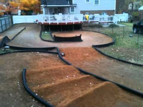 backyard rc track youtube when we buy a house we will