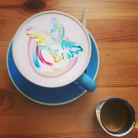 Super, super cool!! Thanks @piggybackcafe, not only a lovely breakfast but a colourful swan in my coffee! #piggybackcafe #breakfast #brunch #cafe #colouredcoffee #rainbowcoffee #rainbow #coffee #coffeeholic #cool #love #bne #jindalee #discoveripswich #discoverbrisbane #coffeegram #coffeebeans #coffeelovers #coffeetime #coffeeart #coffeeporn #foodie #coffeeday