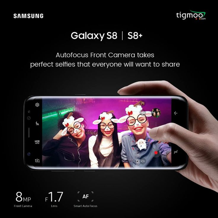 Turn on the #SelfieCamera of your #GalaxyS8 or #S8Plus & the #SmartAutoFocus will start tracking faces which will help you taking #perfectselfies with the perfect focus even in the low lights! Book now S8 & S8+ & get an amazing Kit FREE! For more details, click the following link: https://www.tigmoo.com/new-arrivals/