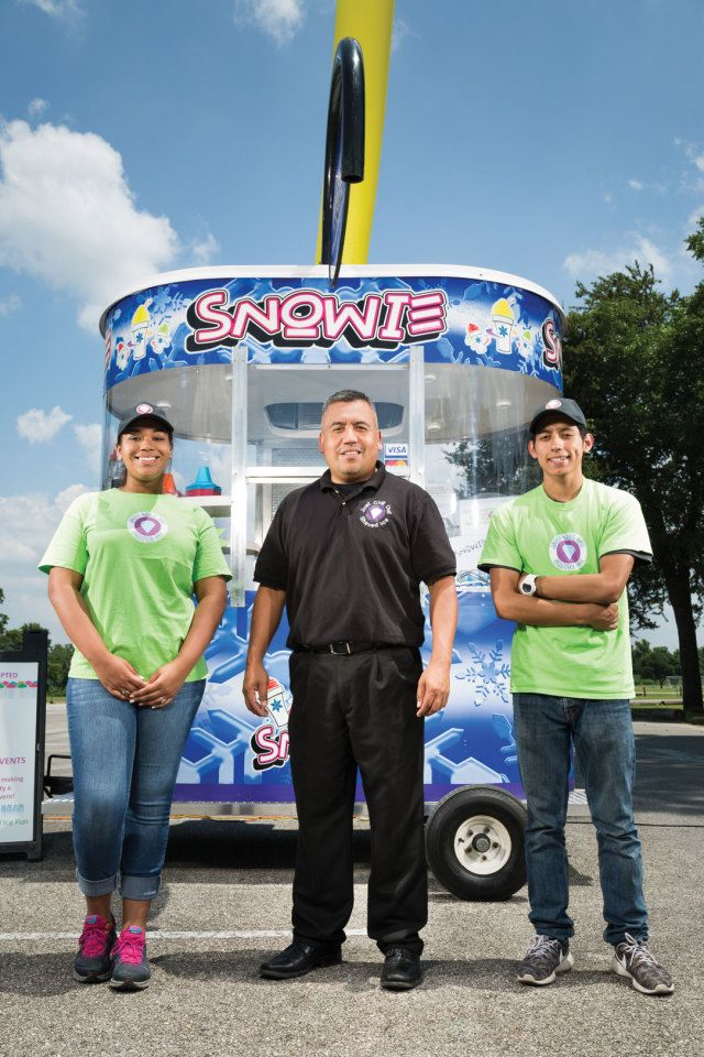 How to Quit Your Oil Job and Open a Sno-Cone Stand Alexx and Rhonda Nanez, owners of Just Chill Out, on finding your own happiness, Houston-style