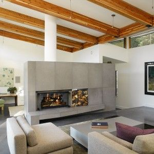 Best 25+ Double Sided Gas Fireplace Ideas That You Will Like On Pinterest |  Contemporary Gas Fireplace, Double Fireplace And Contemporary Gas Fires