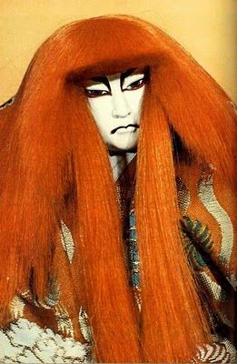 japanese kabuki theatre...and bunraku puppetry
