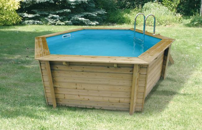 piscine hors sol bois azura petit mod le d410xh120 ubbink tek import. Black Bedroom Furniture Sets. Home Design Ideas