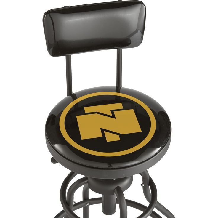 Northern Tool + Equipment Adjustable Shop Stool With Backrest