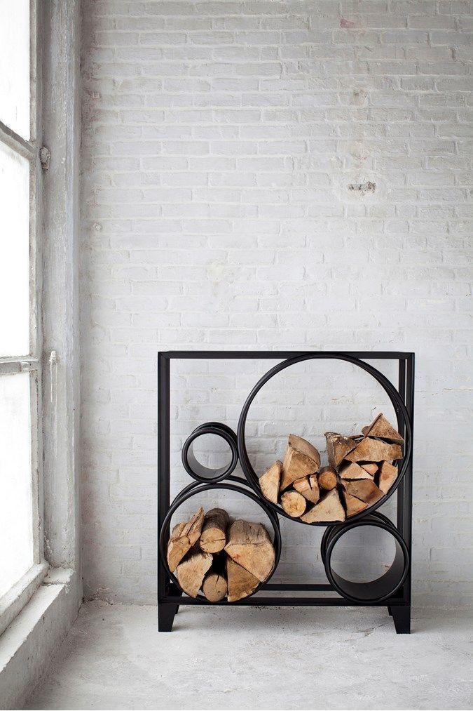 WHAT'S NEW - ferro wood stacker - Nest Love this!