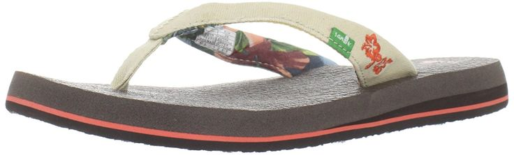 Sanuk Women's Yoga Paradise Flip Flop => For more information, visit now : Sanuk flip flops