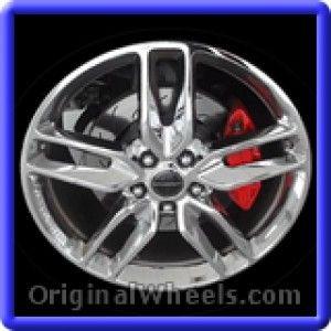 Chevrolet Corvette 2014 Wheels & Rims Hollander #5634  #Chevrolet #Corvette #ChevyCorvette #2014 #Wheels #Rims #Stock #Factory #Original #OEM #OE #Steel #Alloy #Used