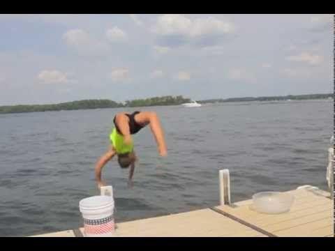 Jamie Erdahl's Ice Bucket Challenge, supporting ALS research!