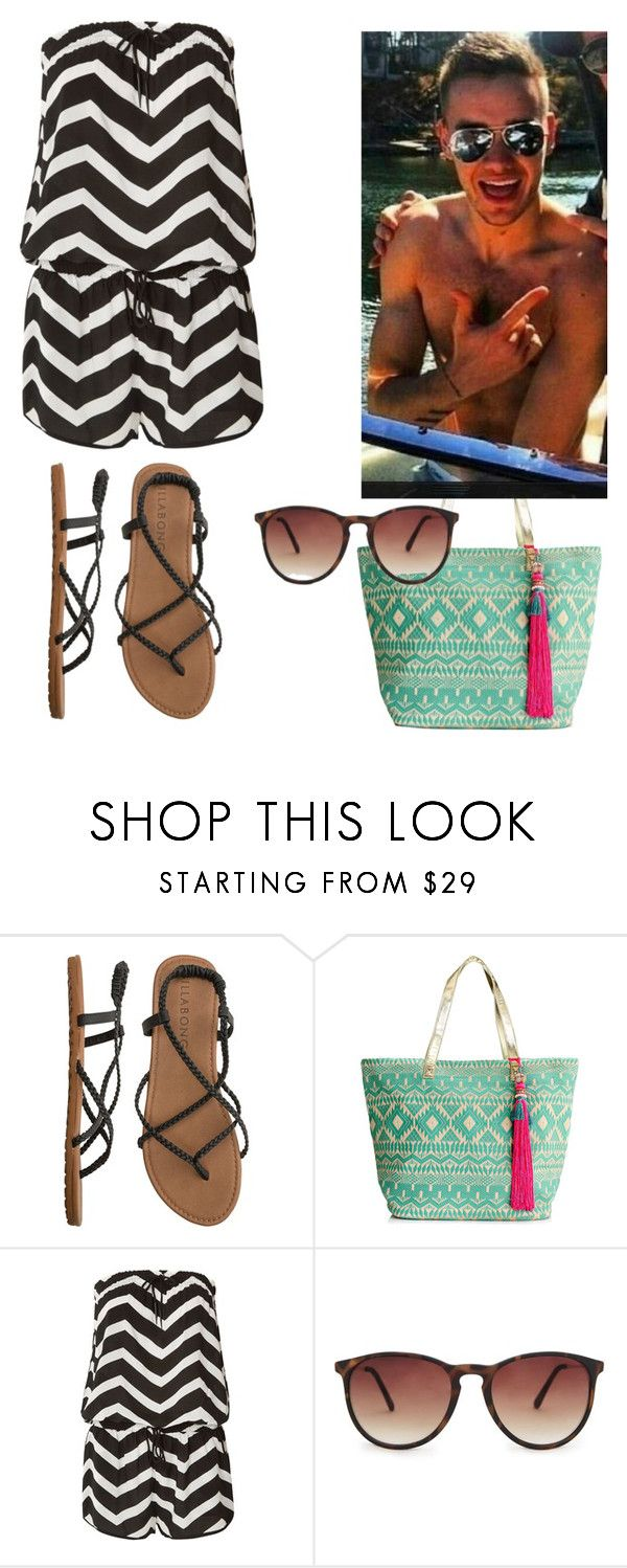 """At the pool with Liam"" by elise-22 ❤ liked on Polyvore featuring Billabong, Accessorize, Seafolly, MANGO and Payne"