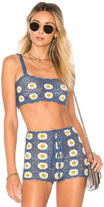 #affiliatead — Lovers + Friends Daisy Crop Top — #chic only #glamour always