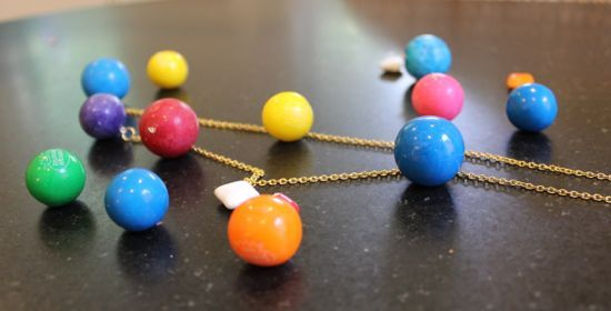 DIY Anthropologie Gumball Necklace | http://hellonatural.co/diy-anthropologie-gumball-necklace/