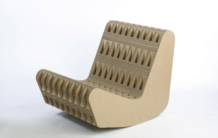 Amazing Furniture Cardboard Design ~ http://www.lookmyhomes.com/wonderful-frank-gehry-furniture-cardboard/