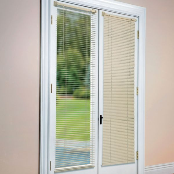 Lovely Dress Up The Windows In Your Steel Doors With Aluminum Magnetic Blinds.  These Window Treatments Are Magnetic.
