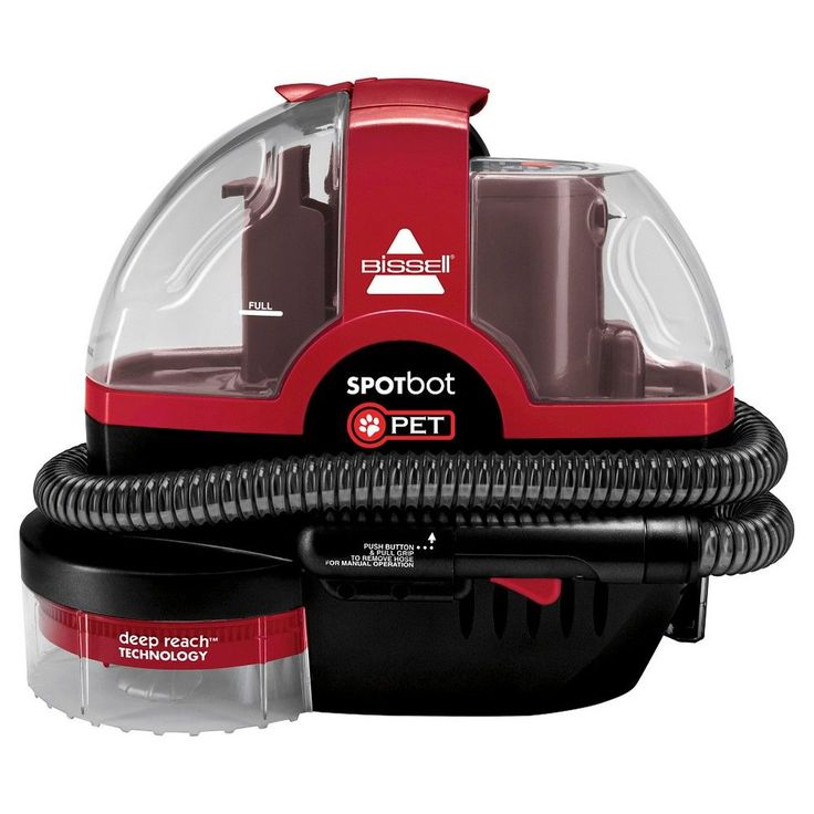 Bissell Spotbot Pet Carpet Cleaner, Red