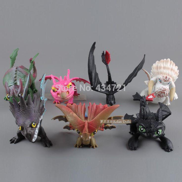 Фильмы как поезд ночной дракон ярость ужасно террор дракон King смертельный Nadder пвх 7 шт. / комплект рисунок игрушки