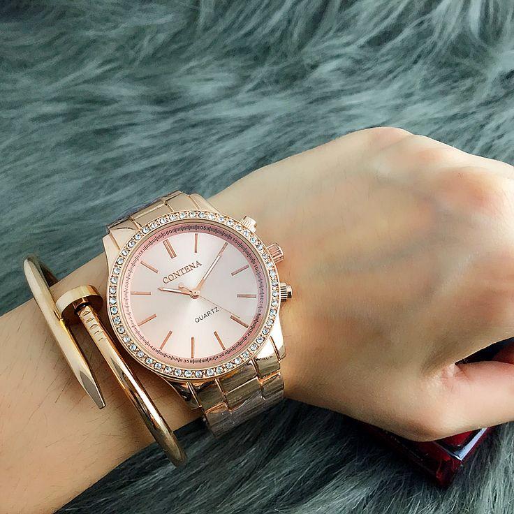 $8.08 (Buy here: https://alitems.com/g/1e8d114494ebda23ff8b16525dc3e8/?i=5&ulp=https%3A%2F%2Fwww.aliexpress.com%2Fitem%2F2016-New-Contena-quartz-watch-luxury-fashion-brand-ladies-metal-bracelet-stainless-steel-vogue-watches-women%2F32724449771.html ) 2016 New Contena quartz-watch luxury fashion brand ladies metal bracelet stainless steel vogue watches women dress watches for just $8.08
