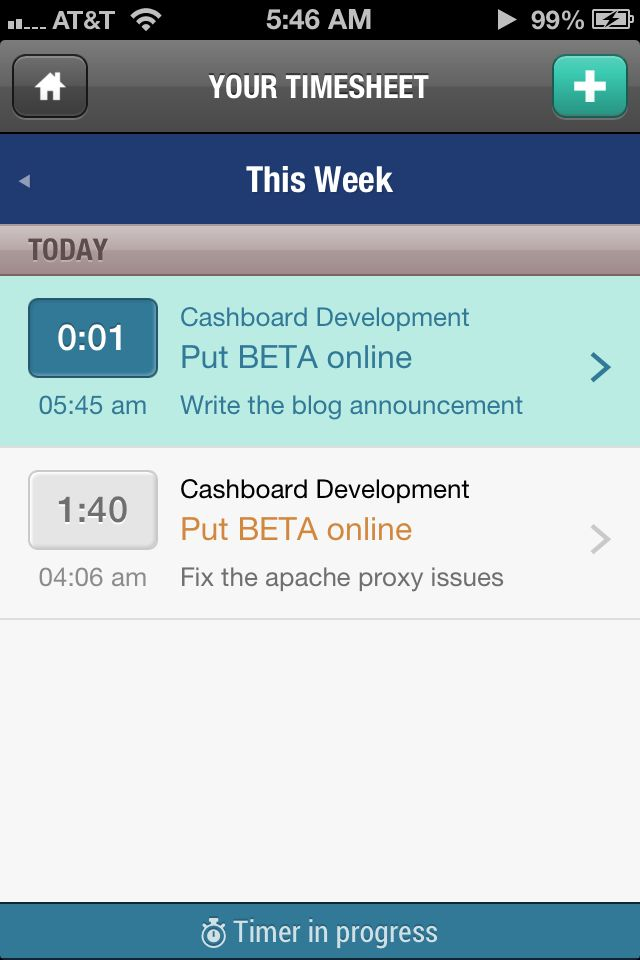 Cashboard mobile timesheet cashboard app pinterest for Application miroir android