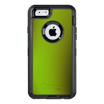 Unique Green Fractal Design OtterBox Defender iPhone Case