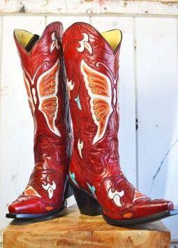 girlie cowboy boots ♥♥