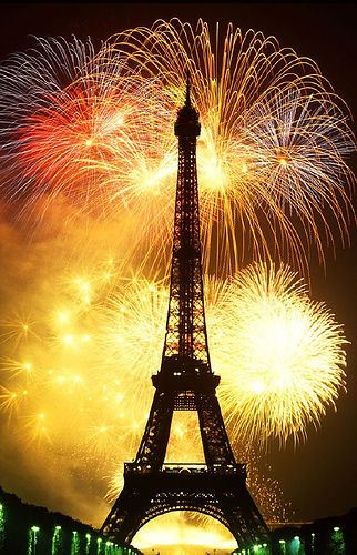 see the New Year in Paris @}-,-;--