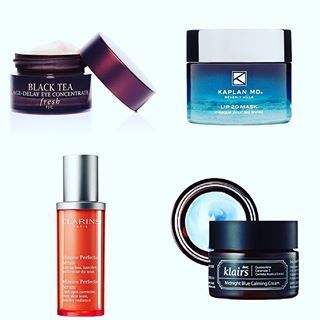 As I was busy celebrating the Hindu New Year yesterday, here is my belated Monday wishlist!...✨ .  Fresh - Black Tea Age-Delay Eye Concentrate  Kaplan MD - Lip 20 Mask  Clarins - Mission Perfection Serum  Klairs - Midnight Blue Calming Cream  #mondaywishlist #skincare #freshbeauty #blackteaagedelay #kaplanmd #lip20 #clarins #missionperfectionserum #klairs #midnightbluecalmingcream #koreanskincare #premiumskincare #luxuryskincare #productjunkie #skincarejunkie #instabeauty #instaskincare…
