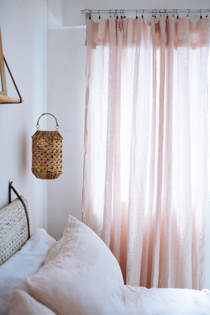 DIY: linen curtains