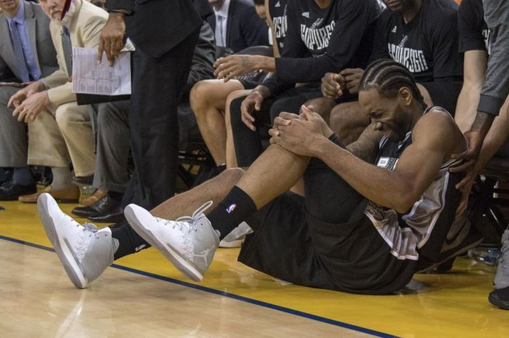 Kawhi Leonard Questionable for Game 3 of Spurs vs. Warriors Due to Ankle Injury