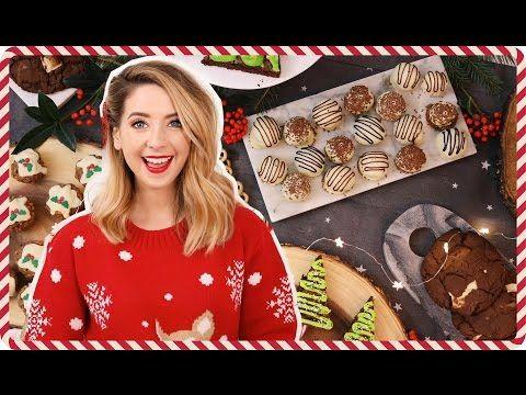 Quick & Easy Festive Treats   Zoella - YouTube