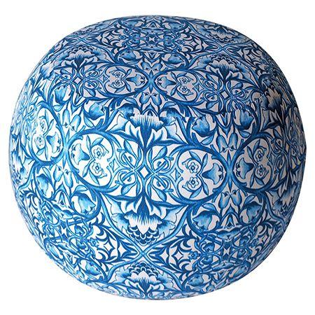 Puf - Altıncı Cadde - Puf Mavi - AltıncıCadde.com Ürün kodu: 3-50-252-0029 1 adet puf  35 x 28 cm  Mavi  Kumaş kaplama