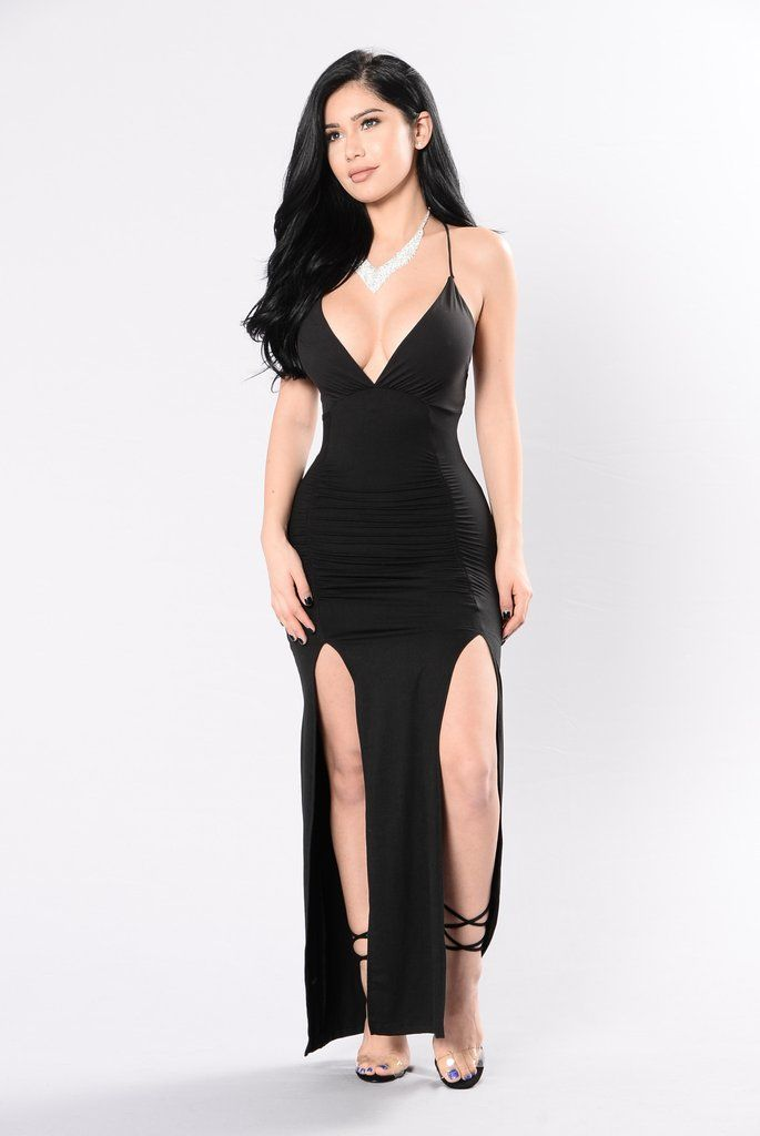 Heaven On Her Dress - Black