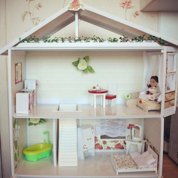 Кукольный Дом Принцессы роз | Панель идей