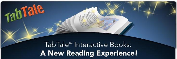 Her kan man hente gratis interaktive bøger i appstore. Man kan i nogle af historierne optage sin egen oplæsning som i f.eks Jack and the Beanstalk