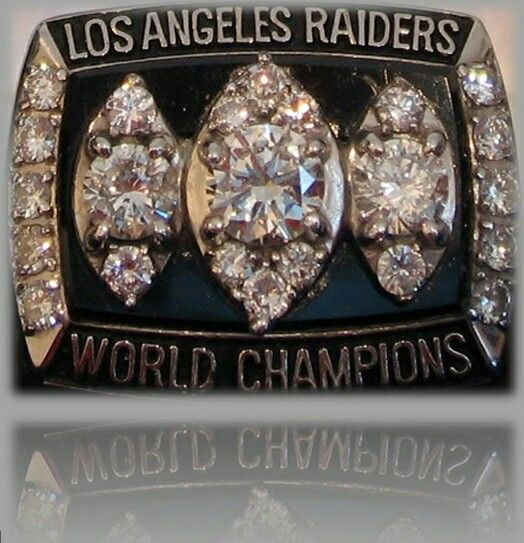 Oakland Raiders Los Angeles Silver and Black Superbowl XVII