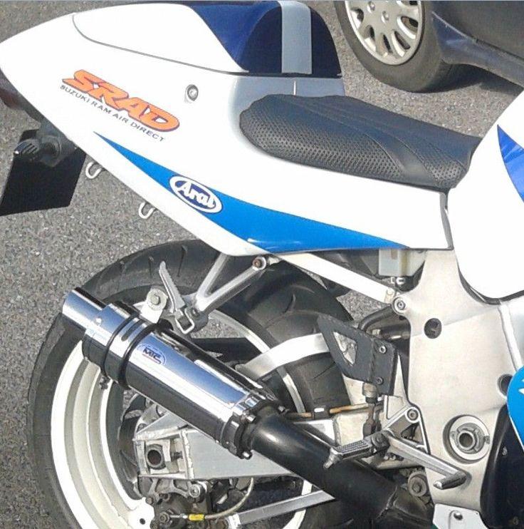 Suzuki GSXR 750 SRAD 96'-00' Stainless GP PRO RACE MTC Exhaust #MaxTorqueCans