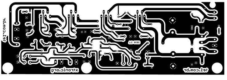 tda2030 2 1 amplificador subwoofer home theater pcb 700x247 Amplificador de áudio Com Subwoofer 2.1 TDA2030 NE5532 circuito audio circuito circuito amplificador