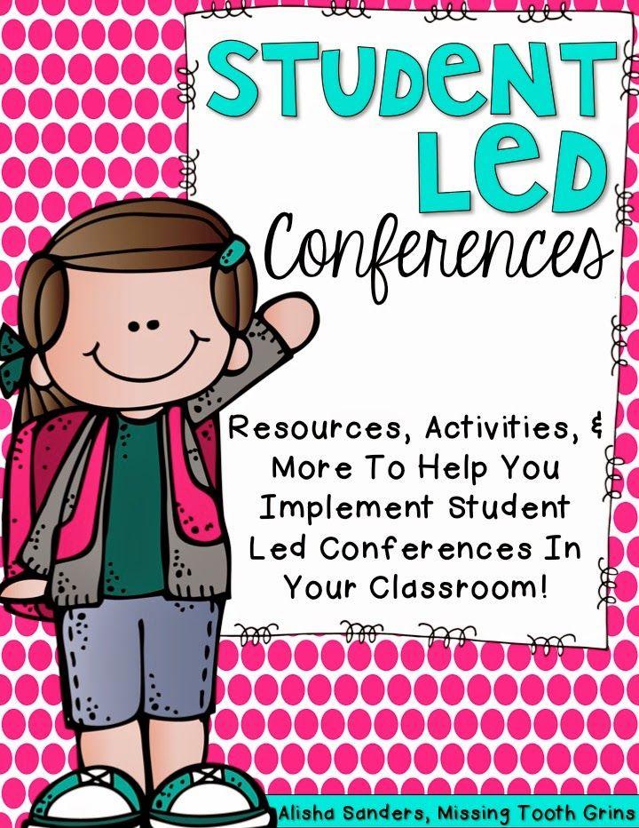 http://www.teacherspayteachers.com/Product/Student-Led-Conferences-1517424