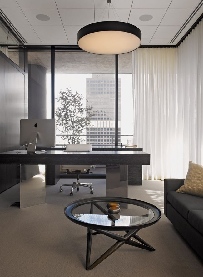 Meyer Davis Penthouse Offices Are You Searching For Office Space For Rent In Noida Visit Home Office Design Modern Office Design Office Interior Design