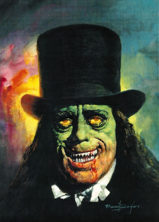Lon Chaney, Sr as rendored by American illustrator, Basil Gogos, famous for his 60s & 70s Famous Monsters of Filmland cover art