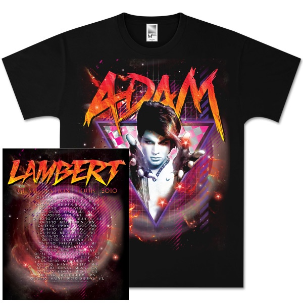 Adam Lambert Glam Space Tour T-Shirt