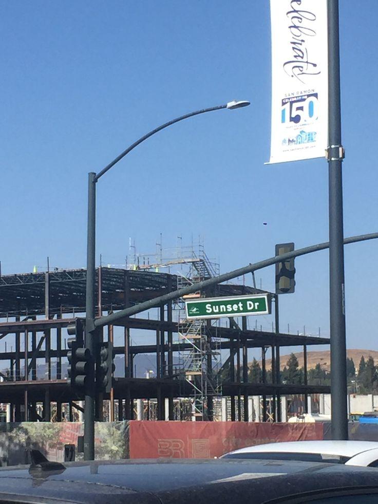 New San Ramon shopping center being build 2017