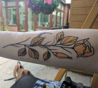 Autumn Rose (Paul Terry @ Bold Street Tattoo, Warrington UK)