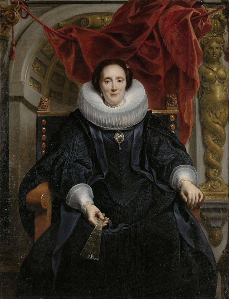 Portrait of Catharina Behaghel, Jacob Jordaens (I), 1635