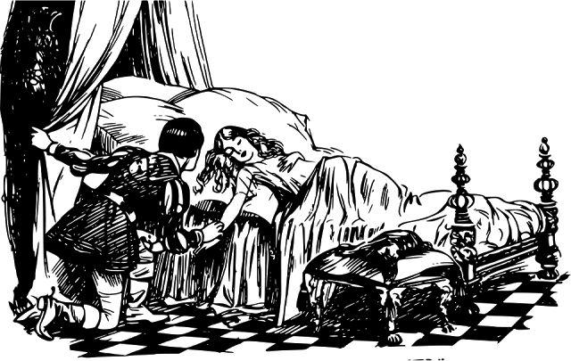 Alien Camps: Putri Tidur (Sleeping Beauty Princess)