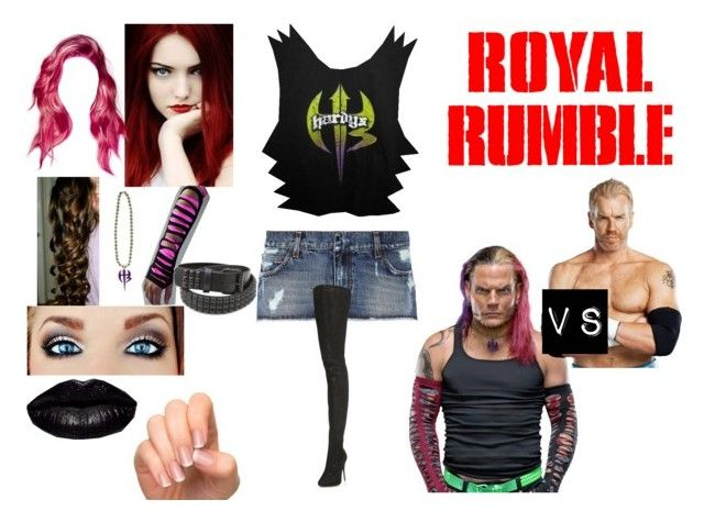 """""""Royal Rumble (1999)"""" by anaeve ❤ liked on Polyvore featuring Pierre Balmain, Maison Margiela, Prada and Incoco"""